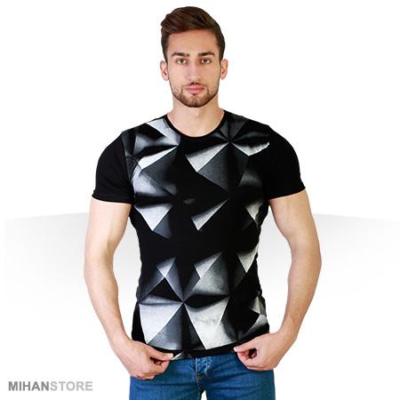 تی شرت سه بعدی Pyramid